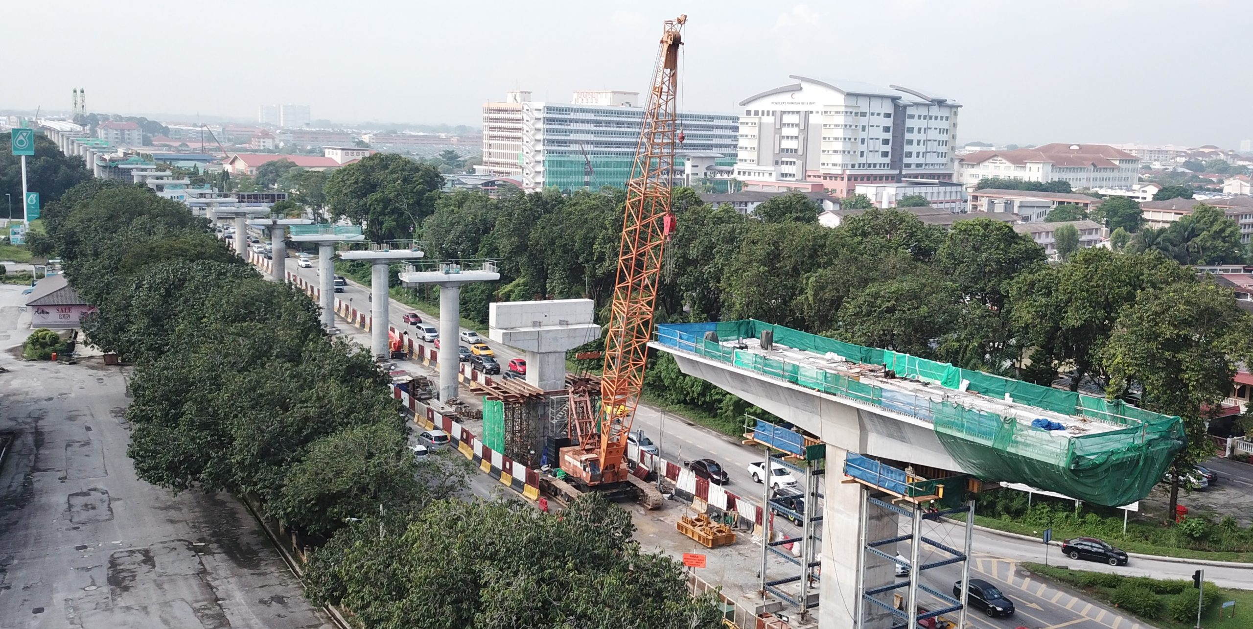 LRT3 Package GS07&08, Klang Valley - Sunway Construction