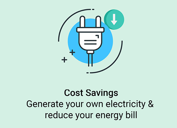 Generate your own electricity & reduce your energy bill